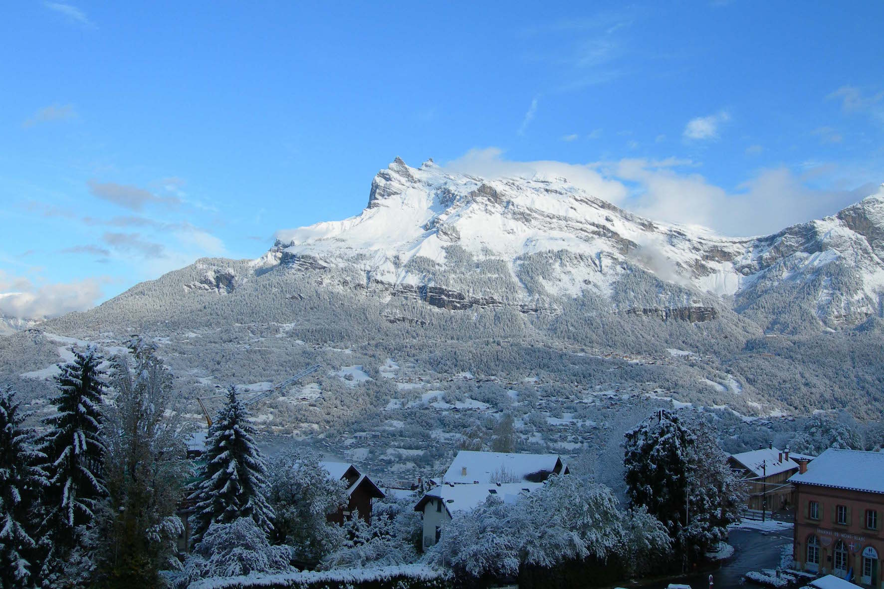 Aravis S10 - View winter