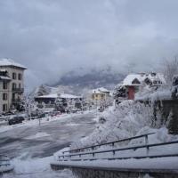 Promenade mt blanc hiver
