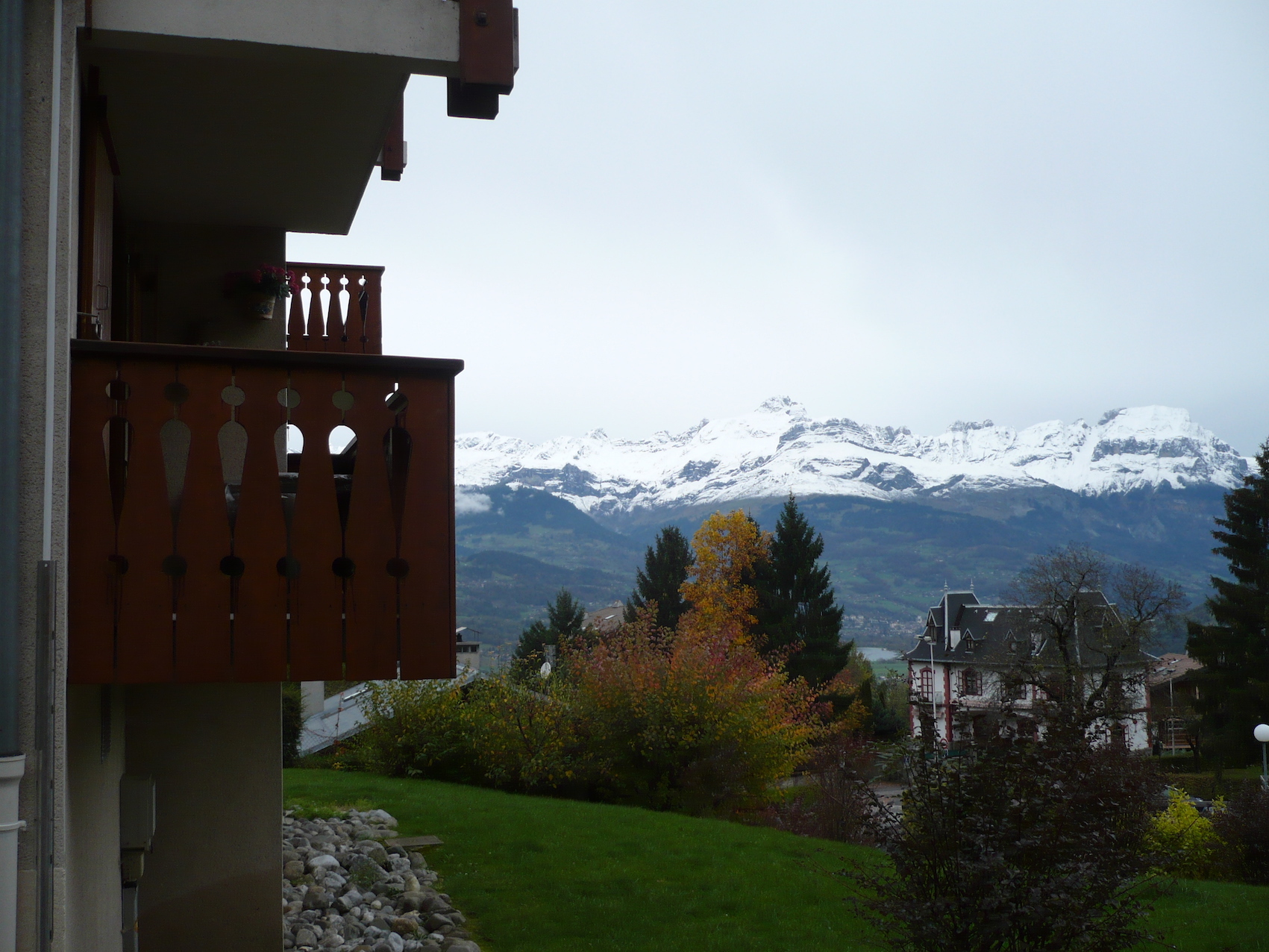 Aravis S12 - View from balcony