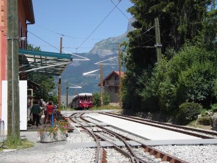 TMB - Arrivée en gare