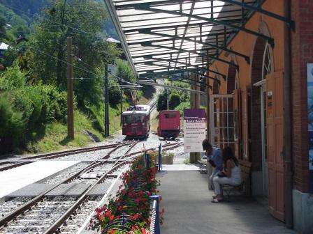 Tramway du Mt Blanc - Quai