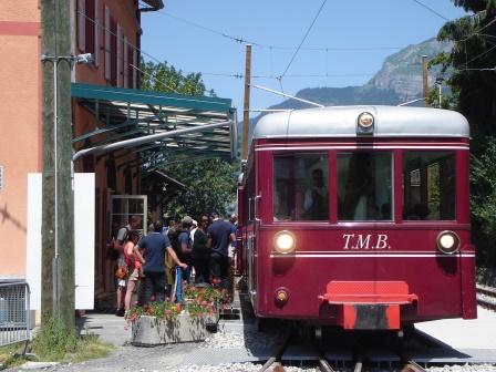 Tramway du Mt Blanc