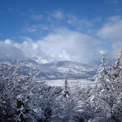 Vue Aravis hiver 1